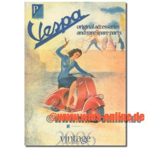 Preisvergleich Produktbild Katalog Vespa Vintage 2009