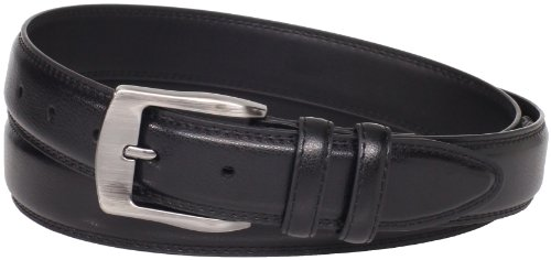 Florsheim Men's Big-Tall Pebble Grain Leather Belt 35MM, Black, 58