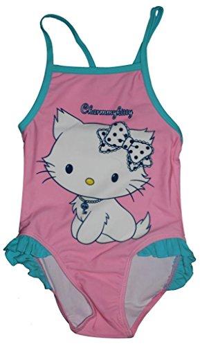 Neue Mädchen Charmmy Kitty Badeanzug / Badebekleidung (Kitty N Kostüm)