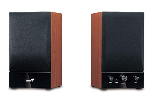 Genius SP-HF 1250B - Altavoces de Ordenador (40 W Amplificador Incorporado, 230...