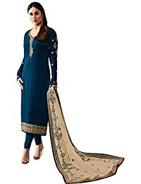 Free 1 Watch To Buy This Salwar Suits For Women's Clothing Dress For Women Latest Designer Wear Dress Collection...