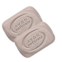 Avon Naturals Bath Soap - (Exfoliating) - set of 2