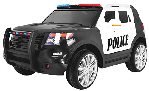 BSD Elektro Kinderauto Elektrisch Ride On Kinderfahrzeug Elektroauto Fernbedienung - SUV Police