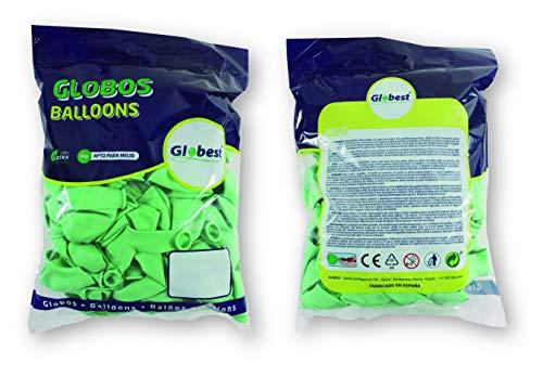 Globest- Globos de fiesta, Color verde (Festival 50149)