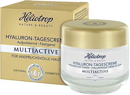 HELIOTROP Naturkosmetik MULTIACTIVE Hyaluron-Tagescreme, Soforteffekt für einen frischen,...
