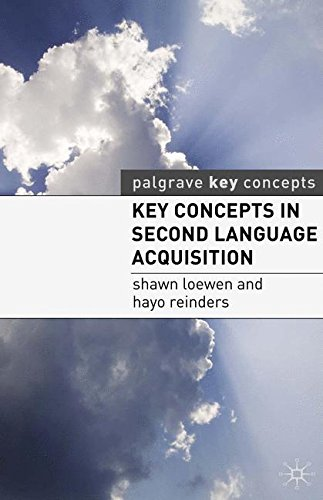 Key Concepts in Second Language Acquisition (Palgrave Key Concepts)