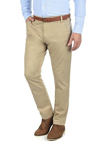 72bbd8ac26cf42 SOLID Machico Herren Chino-Hose lange Business Hose Casual mit Gürtel aus  hochwertiger Baumwollmischung Regular