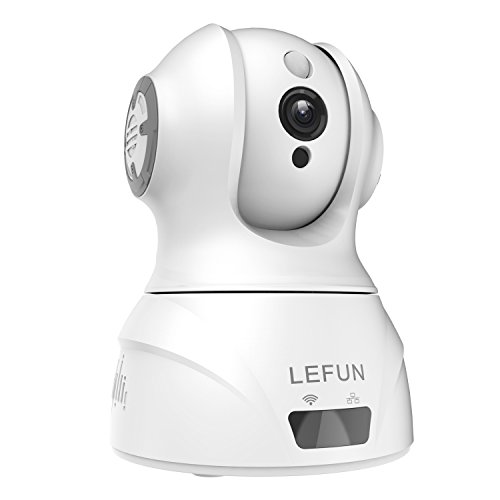 LeFun Baby Monitor FULL HD 1080P(1920TVL) WiFi Wireless IP Network Home Security Camera Pan Tilt Nanny Cam Two Way Audio H.264 Video Compression Webcam Motion Detection with IR-Cut Night Vision