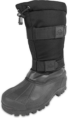 normani Canadian Winterstiefel Kälteschutzstiefel Ice-Boots bis -40 Grad Farbe Schwarz Größe 38/4