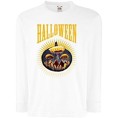 N4273D Bambini t-shirt con maniche lunghe Halloween