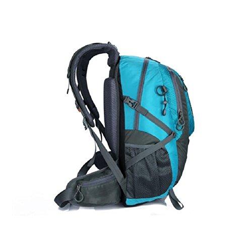 471c01ef9ced4 ... LF F Backpack 40L KapazitäT Freizeit Outdoor Sport Bergsteigen Rucksack  Laptop Tasche Schultasche Camping Picknick Party Paket ...