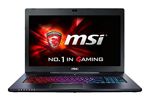 "MSI GS70 2QD-448ES Stealth - Portatíl de 17.3"" FullHD (Intel Core i7-4720HQ , 8 GB DDR3, disco duro HDD de 1 TB + 128 GB SSD, nVidia Geforce GTX965M a 2GB GDDR5, Windows 8.1 ), negro - teclado QWERTY Español"