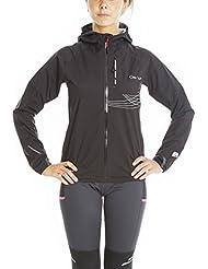 Veste de Trail Running 2.5L avec membrane imperméable et respirante.