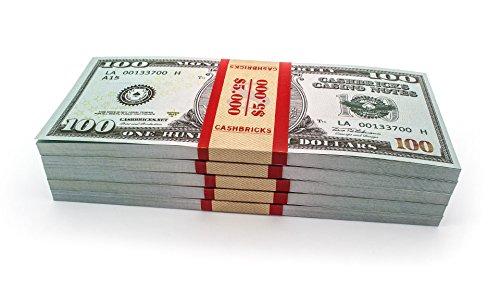Dollar Kostüme 5 (50 x $100 DOLLAR Cashbricks® Spielgeld (5)