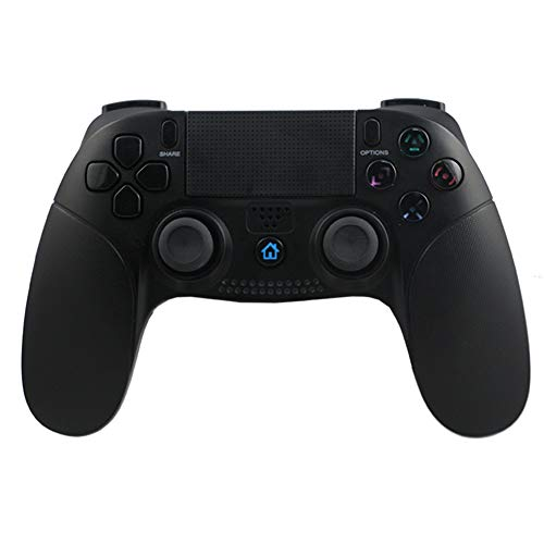 PS4 Controller, Wireless Bluetooth Gaming Gamepad für PS4 /PS3 Mit Dual-Vibration-Turbo und Touchpad Hochpräziser Joystick , integrierte Farb-LED für PlayStation 4/3 Games -