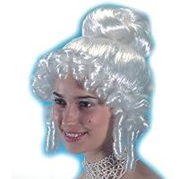 Rokoko Perücke für Damen weiß Barock Perücken