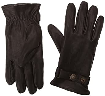 Schott Nyc Men's Gl1680 Gloves Black (Black) 9