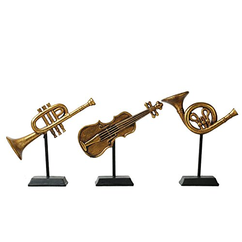 Einfache Und Stilvolle Wohnaccessoires Ornamente/Musikinstrument (Grabsteine Sätze Für)