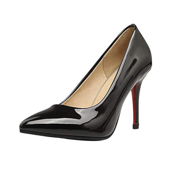 AicciAizzi Women Classic High Heel Pump Slip On 41LuANoqw1L