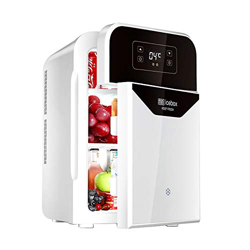 22L Mini Kühlschrank Auto Kühlschrank Ultra Leise Geräuscharm Elektrische Kühler Und Wärmer Ac/Dc Tragbare Auto Mini KühlschräNke Gefrierschrank