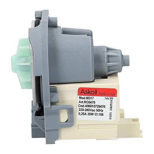 Bauknecht Whirlpool IGNIS Pumpe Spülmaschine 481010478045 481010751595 Askoll M258 Laugenpumpe 35 Watt
