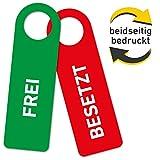 Türhänger Türanhänger dicke Hartschaumplatte 3mm Schild Frei Besetzt Tür Deko (1)
