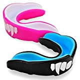 UK Warrior Vampire Mouth Guard The Best Gum Shield - Boxing Hockey Karate Rugby