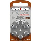 120 piles auditives Rayovac 312 Extra advanced / pile auditive PR41 / piles...