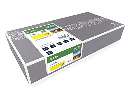 Preisvergleich Produktbild Astar AS13746 Toner kompatibel zu Lexmark C746A1YG,  10000 Seiten,  40% Mehrleistung,  XXL,  gelb