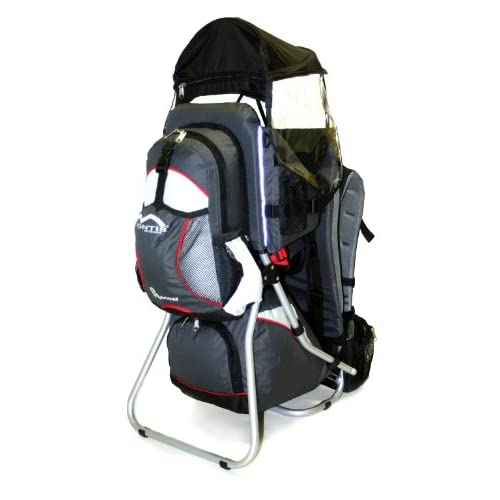 41LuGh2fwFL. SS500  - Montis HOOVER, Child Hiking Backpack Carrier, suitable for babies & toddlers with a stable seat, low weight suitable…