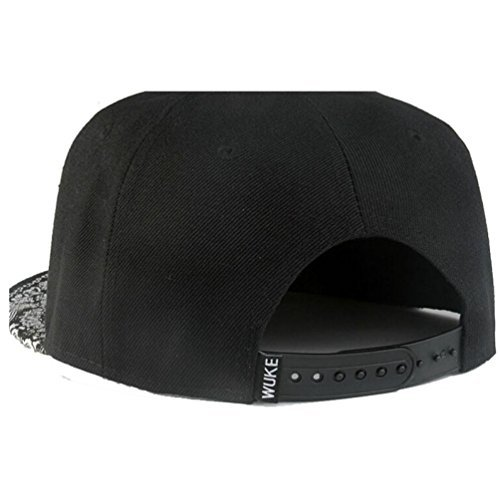 waygo Paisley schwarz Snapback BBOY HipHop Hat Verstellbare Baseball Cap - Bboy-baseball-cap