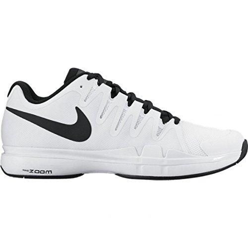 Nike Zoom Vapor 9.5 Tour, Scarpe da Tennis Uomo, Multicolore (Blanco / Negro (White / Black-Black)), 37 EU