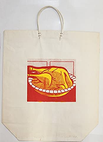 Roy lichtenstein-turkey Shopping bag-1964 Feuervogel