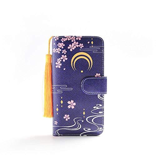 Brieftasche Touken Ranbu Online Lange Frauen Pu Leder S Lady Clutch Reißverschluss Kartenhalter Münzfach Weiblichen Geldbörsen Mit Quasten, Mikazuki Munechika
