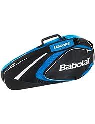 Babolat X 3 Club Fundas para raquetas de tenis, Unisex adulto, Azul, Única