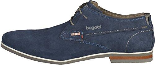 Bugatti 311-25701 Herren Halbschuhe Blau(Dunkelblau)