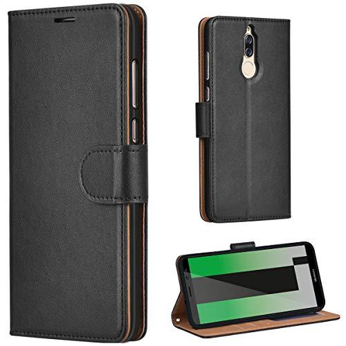 Leaum Huawei Mate 10 Lite Hülle Handyhülle Brieftasche Leder Tasche Flip Case für Huawe