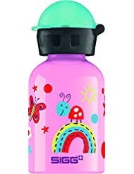 SIGG Funny Insects, Kinder Trinkflasche, 0.3 L, Auslaufsicher, BPA Frei, Aluminium, Pink