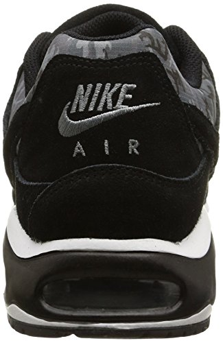 Nike Air Max Command Prm, Chaussures de Sport Homme noir (Black/Black-Cool Grey-Anthrct)
