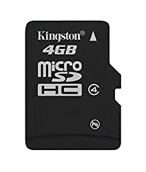 Kingston 4GB Micro SDHC class 4 memory card