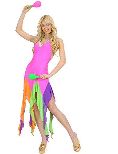 Kostüm Tänzerin Brasilianische - Generique - Kostüm brasilianische Tänzerin Neonrosa für Damen
