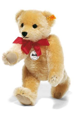 Steiff 25cm Classic 1909 Jointed Teddy Bear with Squeaker (Blond) by Steiff