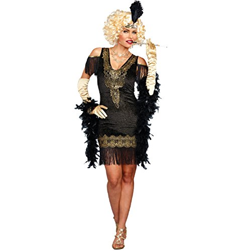 Dreamgirl 10700Swanky Flapper Kostüm, Mittel
