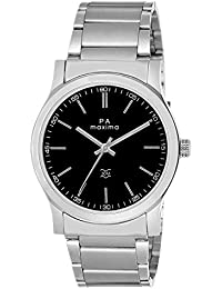 Maxima Attivo Analog Black Dial Men's Watch - 20895CMGI