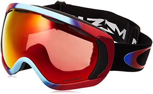 Oakley Canopy Asian Fit Snow Goggles, Prizm Halo, Large