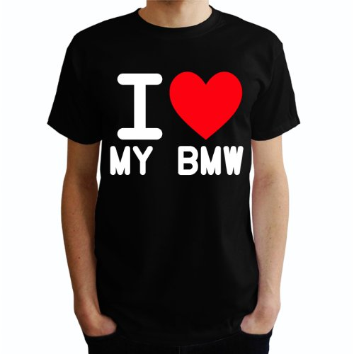 I love my bmw Herren T-Shirt Schwarz