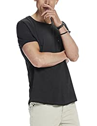 Scotch & Soda Tee In Lightweight Jersey Quality with Cut & Sewn Styling A, T-Shirt Homme