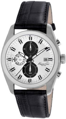 kenneth-cole-new-york-pour-homme-kc8041dress-sport-ronde-chronographe-noir-sangle-montre-analogique-