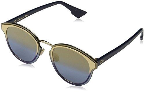 Dior Damen DIORNIGHTFALL X5 LKS Sonnenbrille, Gold Blue/Gdms Azure AR, 63
