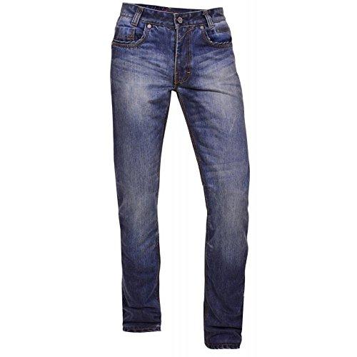 King Kerosin Herren Kevlar Jeans Hose - Speedhawk DP Double Protection W34 / L32